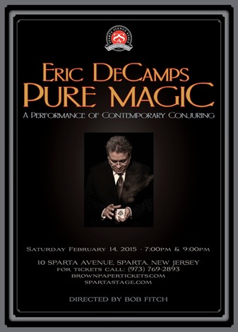 DeCamps PURE MAGIC poster SPARTA